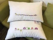 2pcs Good Night Moon Star Cute Bird Pillow/Neck Pillow with Polyester Fiber Filler and 100% cotton Pillow case Fast Free Ship