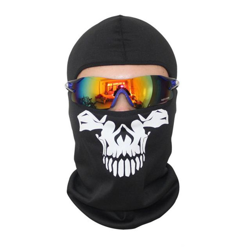 Hot Selling 2018 New Skull Mask Sun Wind Dust Outdoor Sport Riding Skiing War games Hunting Cycling Halloween Equipment B25