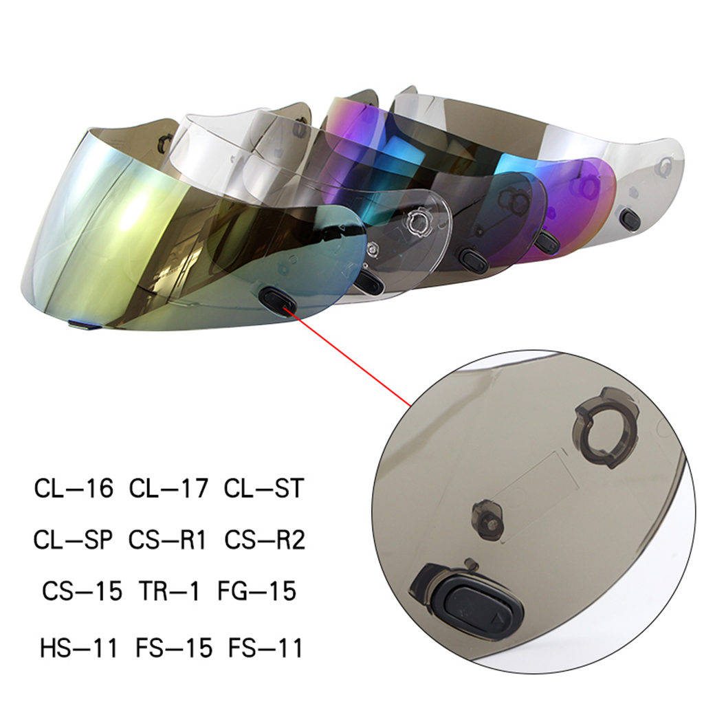 HJC CS-R2 /& CS-R1 HJ-09 Anti-Scratch Clear Helmet Replacement Shield Visor