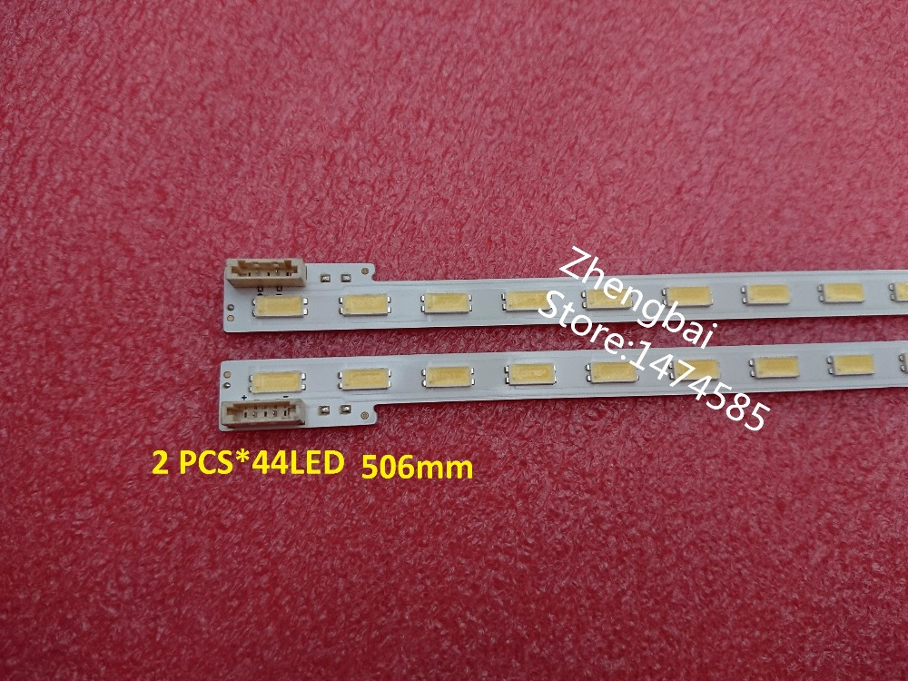 100% Nouveau original 2 PCSX44 LED LED bande S LED 2012SLS46 7030 44 R L pour KDL-46EX650 LJ64-03363A LTY460HN05 506mm100% Nouveau original 2 PCSX44 LED LED bande S LED 2012SLS46 7030 44 R L pour KDL-46EX650 LJ64-03363A LTY460HN05 506mm