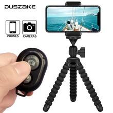DUSZAKE DB1 aparat Mini statyw do stojak na telefon Gorillapod dla iPhone statyw na telefon kamera Mini statywem do telefonu Gorillapod