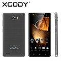 Xgody x17 5.0 pulgadas smartphone android 5.1 quad core ram 512 mb rom 8 gb con cámara de 5mp dual sim tarjetas de teléfonos inteligentes