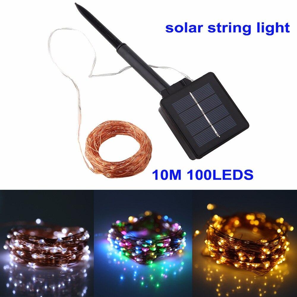 Factory Shop Solar Lights: Aliexpress.com : Buy Solar String Lights 10M 100 LED 2