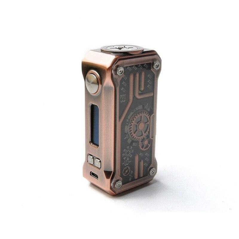 US $50 0 10% OFF Original TESLACIGS Vape Box Mod 85w Temperature Mod Micro  USB charging port Tesla Punk 85w Box Mod 510 Thread e cigarette-in