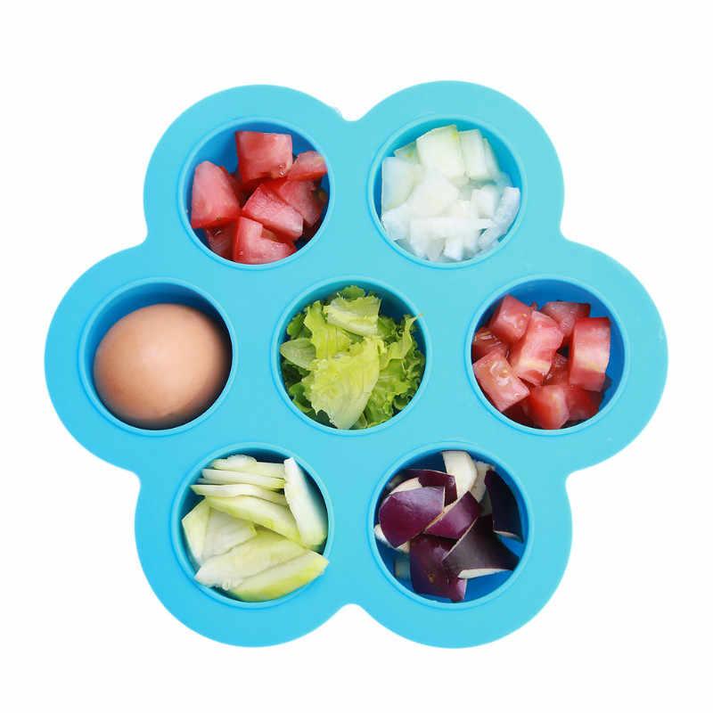 2017 การออกแบบเด็กทารกเด็กทารกดอกไม้ Lattice อาหารแบบพกพา Universal จานชามตู้แช่แข็งถาด DW884351