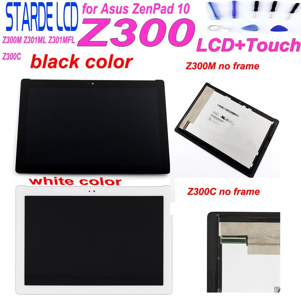 AAA Starde 10.1 ''LCD pour Asus ZenPad 10 Z300C P00C P023 connecteur vert Z300M Z301ML Z301MFL connecteur jaune écran tactile LCD