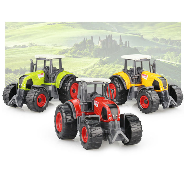 Multifunktionell Kombination 22 * 6 * 7CM Farmer Traktorfordon Leksaker Alloy Modell Leksak Bilar Gåva För Barn