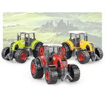 Multi-fonctionnelle Combinaison 22*6*7 CM Agriculteur Tracteur Véhicule Toys Alliage Modèle Jouet Cars Cadeau Pour enfants