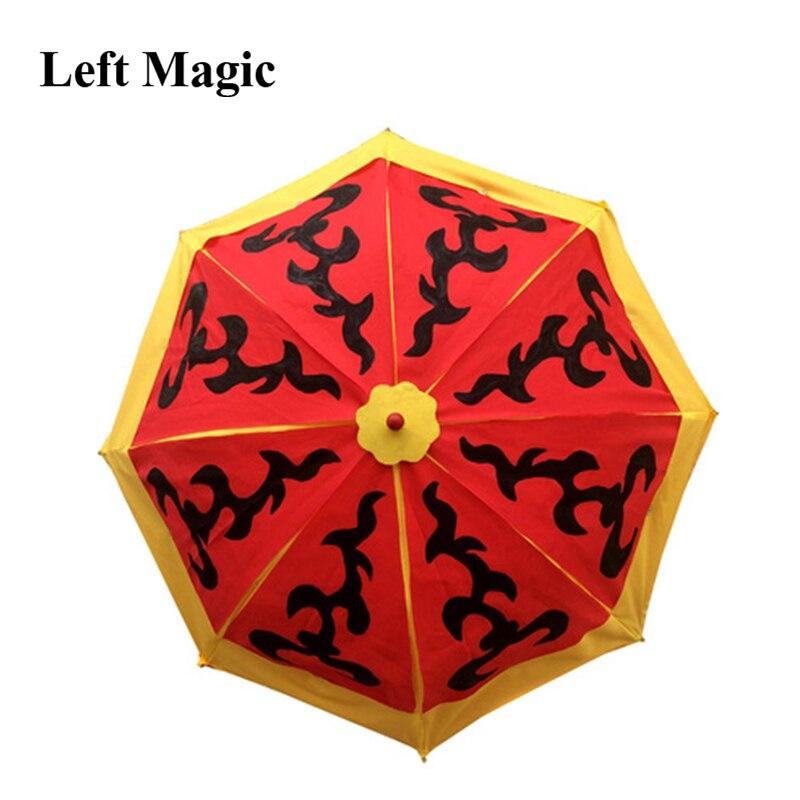 Parapluie change de couleur (deux fois change) Parasol Production magie tour Illusion scène accessoires magiques