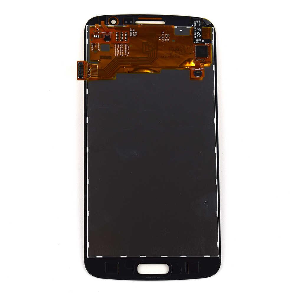 สำหรับ Samsung Galaxy Grand 2 Duos G7102 G7105 G7106 G7108 หน้าจอสัมผัส Digitizer แผงเซนเซอร์แก้ว + จอแสดงผล LCD assembly