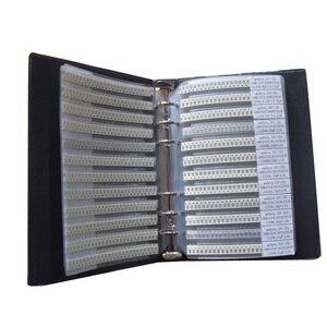 Image 4 - Il Trasporto Libero 1206 SMD Condensatore Campione Libro 80valuesX25pcs = 2000 pz 0.5PF ~ 1 uf Condensatore Assortimento Kit Confezione