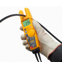 Fluke T61000 Non contact Voltage Clamp Meter Fork Voltmeter Ammeter With Soft Shell High Precision Current Clamp Meter