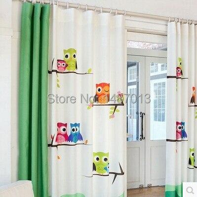 kinderzimmer gardinen mit eulen pauwnieuws