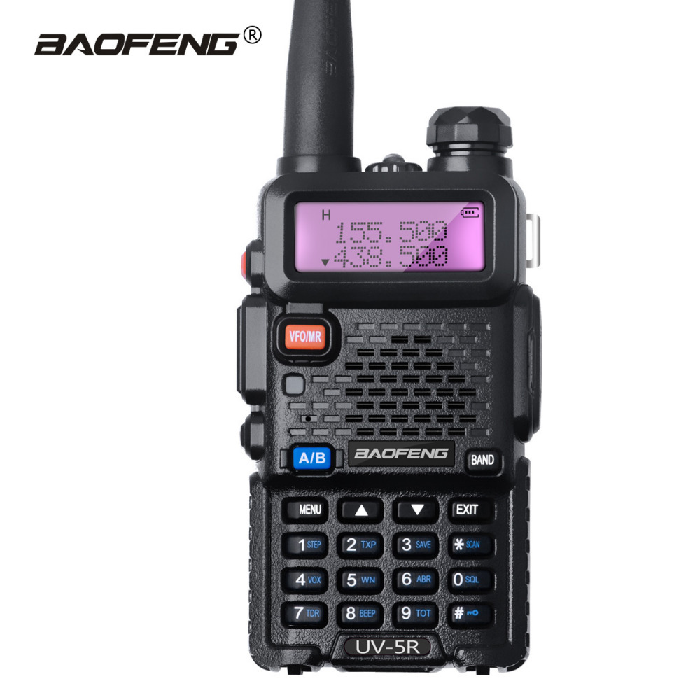 Baofeng UV-5R 8W Walkie Talkie Dual Band UHF VHF UV5R CB Radio 128CH VOX 1