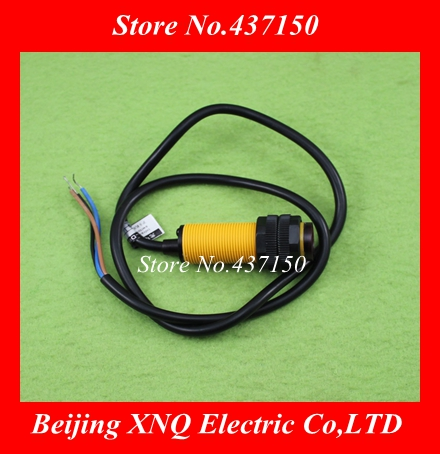 E18-D80NK infrared obstacle avoidance sensor head with DuPont proximity switch smart car 3-80cm