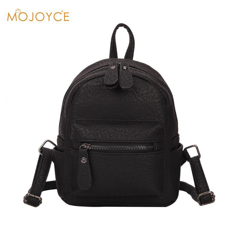 8b27865874ea Мода для девочек элегантный дизайн мини-рюкзак подростков из искусственной  кожи дорожные сумки рюкзак Для