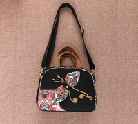New Coming Multi Use Appliques Handbags Hot Women S Vintage Cute Zippers Bags Hot Shopping Lady