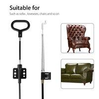 2Pcs Universal Liege Kabel Sofa Pull Griff Release D-Ring Lane Kabel JA55