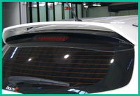 Higher star ABS material rear trunk Spoiler with color paint for Kia sportage 2011 2015,Install by 2pcs screw or glass glue