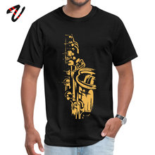 Round Collar Saxophone Keywork Dark Souls Young Top T-shirts Custom Ni Sleeve Tees Designer 3D Printed Tee Shirt For Men