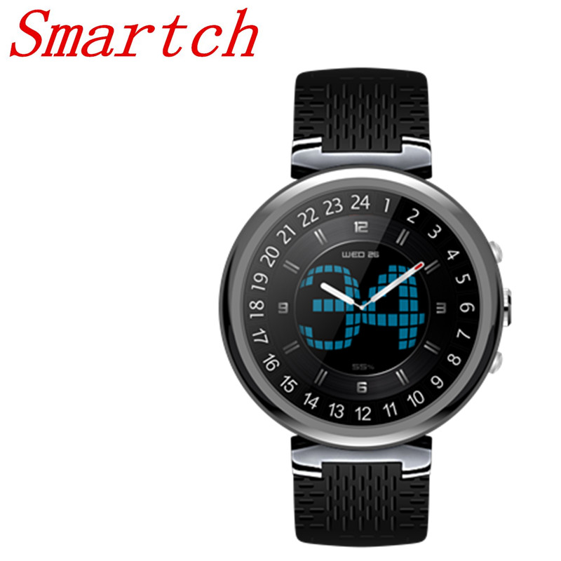 Smartch 2018 I6 Smart Watch Android 5.1OS MTK6580 Quad Core 1.3GHz 2GB 16GB Smartwatch Support Google Play Store Map 3G GPS Wifi