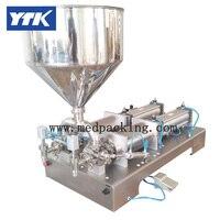 YTK 5-100 ml doppel heads Cream Shampoo Kosmetik Automatische Füllmaschine schleifen
