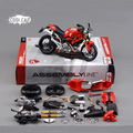 New DIY 1:12 Maisto Motorcycle Model Metal Kit Diecast Motorbike Model Maisto Assembly Toys Brinquedos Collection Gift