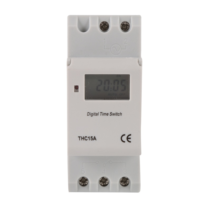 AC 12V 24V 110V 220V Digital LCD Power Timer Programmable Time Switch Relay 16A GOOD temporizador Din Rail ac 220v digital lcd power timer programmable time switch relay 16a good temporizador din rail ahc15