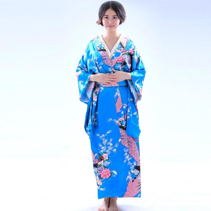 Kimono Jepun Kimono Tradisional Wanita Kimono Pakaian Wanita Yukata - Pakaian kebangsaan - Foto 5