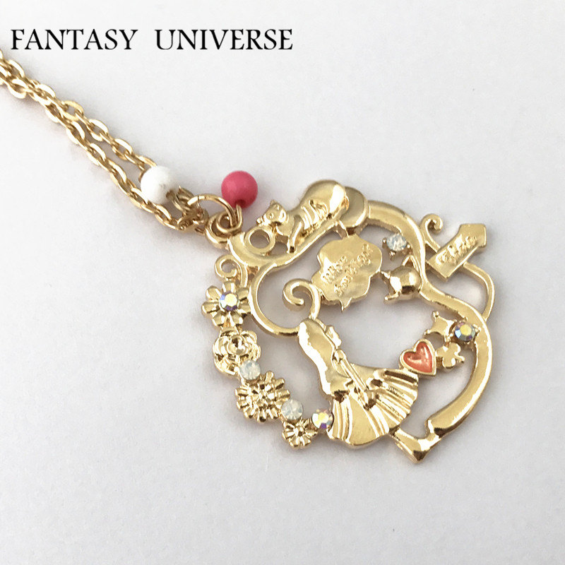 FANTASY UNIVERSE Alice in Wonderland Freeshipping Necklace IC09