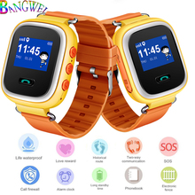 LIGE Children Smart Watch Baby Digital Clock Safe Positioning LBS Tracker Voice Chat Message Remind