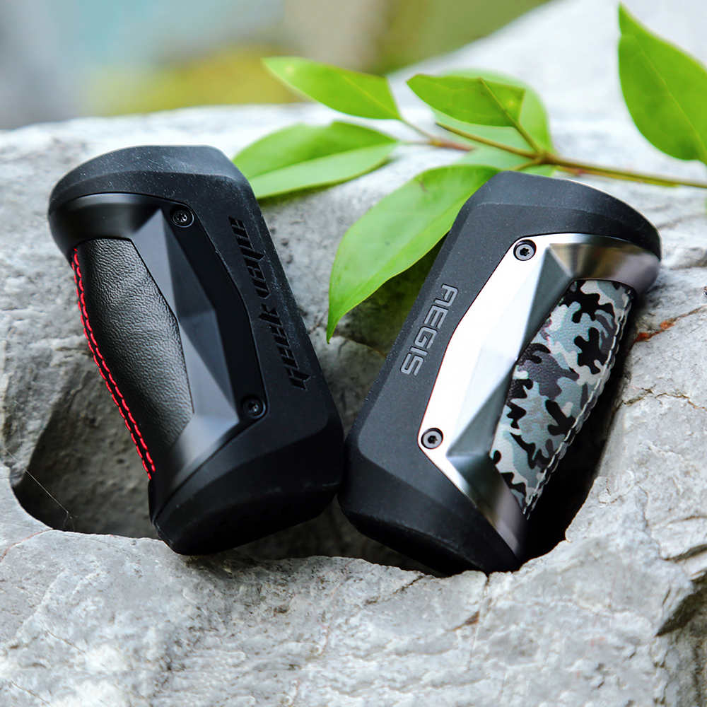 Free Gifts Original Geekvape Aegis Mini Mod 80W with Built in 2200mah Battery for Geekvape Cerberus Tank Box MOD VS Aegis Legend-in Electronic Cigarette Mods from Consumer Electronics    3