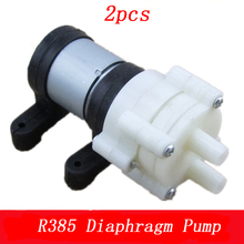2pcs R385 DC 6V/12V Diaphragm Pump DIY Mini Water Pumps Circ