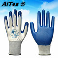 Free shipping hot sale Wholesale blue 13Gauge Nylon Nitrile Coated Working Gloves Safety Protective Gloves work glove 5pairs/lot