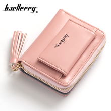 Baellerry Female Lady Coin Wallet Women Purse Small For Money Bag Zipper Mini Card Holder Baellery Carteras Kashelek Portomonee