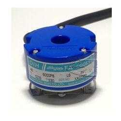 TAMAGAWA Optische Holle As Encoder 6000 p/R OIH48 6000P8 L6 5V TS5233N530 8 pole DC5V Line Driver UVW uitgang encoder-in Instrumenten voor niveaumeting van Gereedschap op