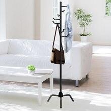 Perchero de ropa con diseño de árbol para ropa con ganchos en forma de L