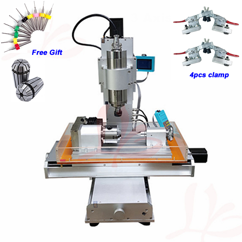 4 Axis CNC 3040 Pillar Type CNC Router 1500W 2200W Table Column Type Woodworking CNC Engraving Machine4 Axis CNC 3040 Pillar Type CNC Router 1500W 2200W Table Column Type Woodworking CNC Engraving Machine
