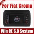 Jefe Unidad de Coches Reproductor de DVD para Fiat Croma con Gps Navigator Radio BT TV Mapa AUX USB SD iPod de Audio y Vídeo Estéreo Sat Nav