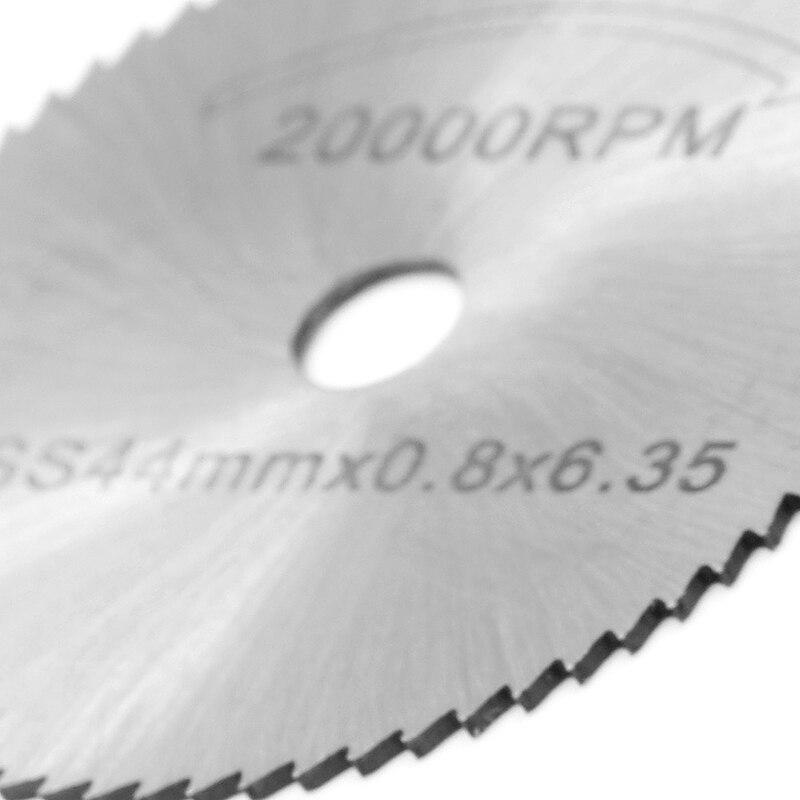 44MM HSS Cutting Disc Grinder Cutoff Circular Saw Rotary Blades Tool + Rod New
