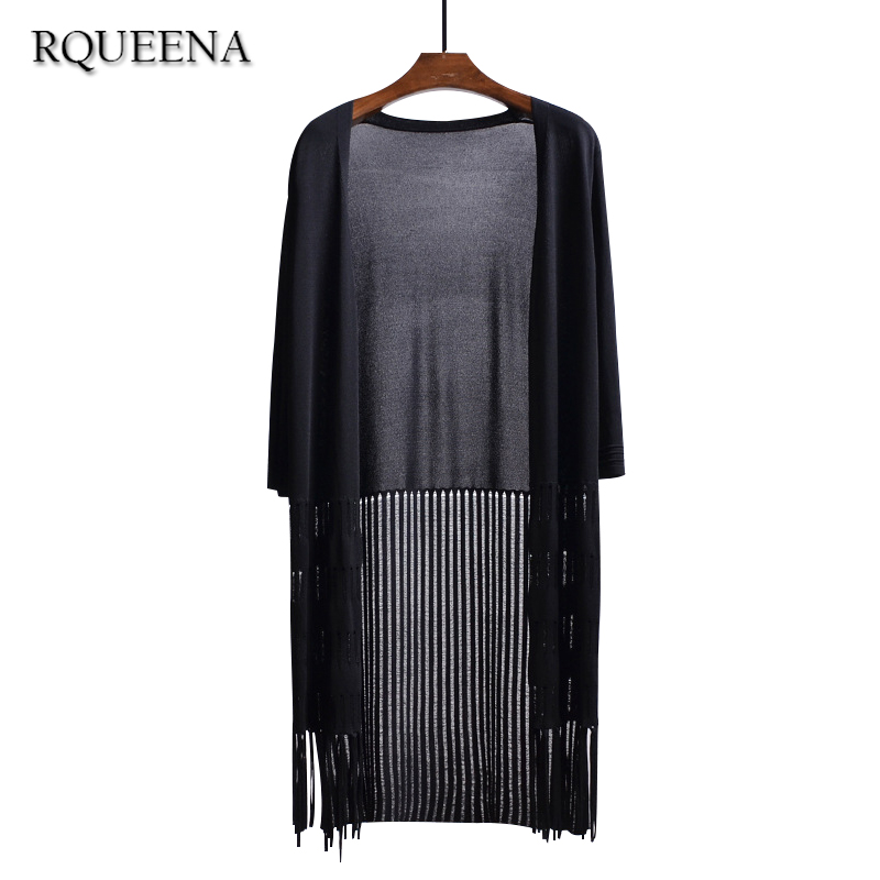 Aliexpress.com : Buy Rqueena New Fashon Long Cardigan Women 2017 ...