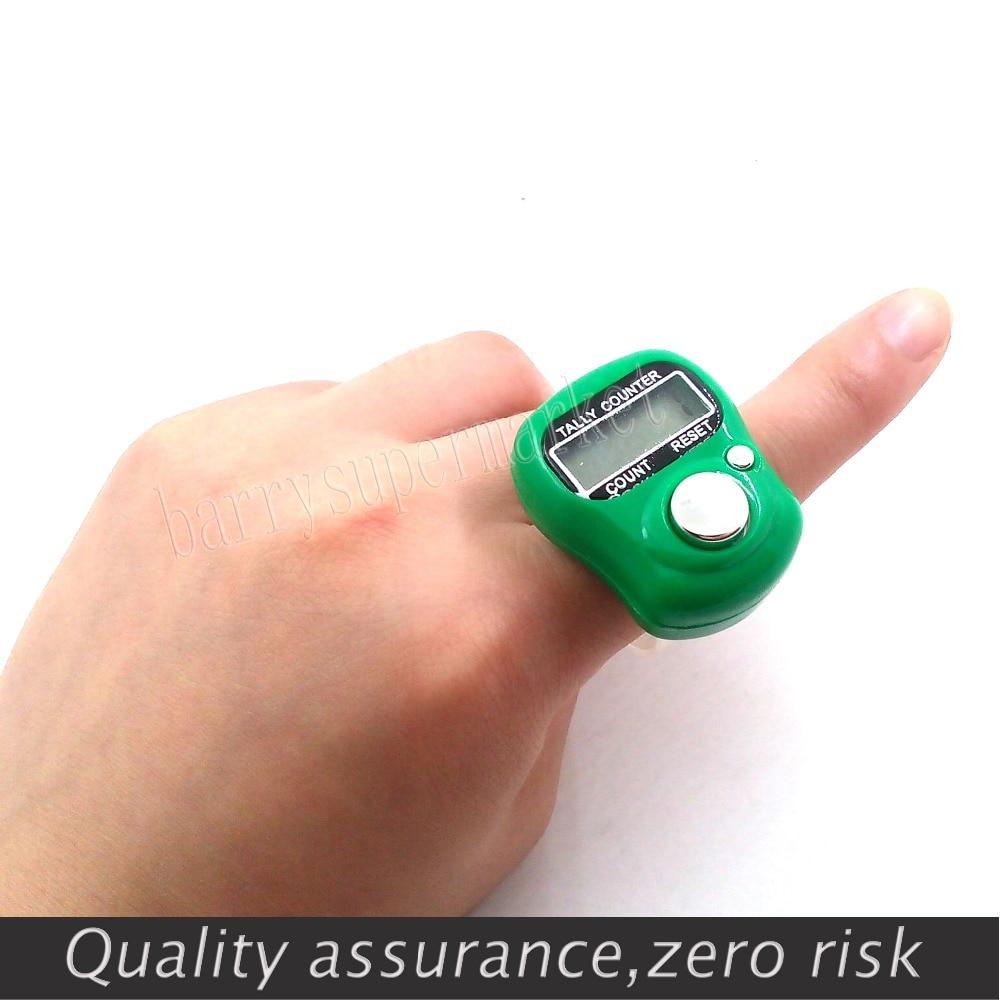 10 db mini számláló digitális kézi számláló FingerRing Tally - Mérőműszerek - Fénykép 4