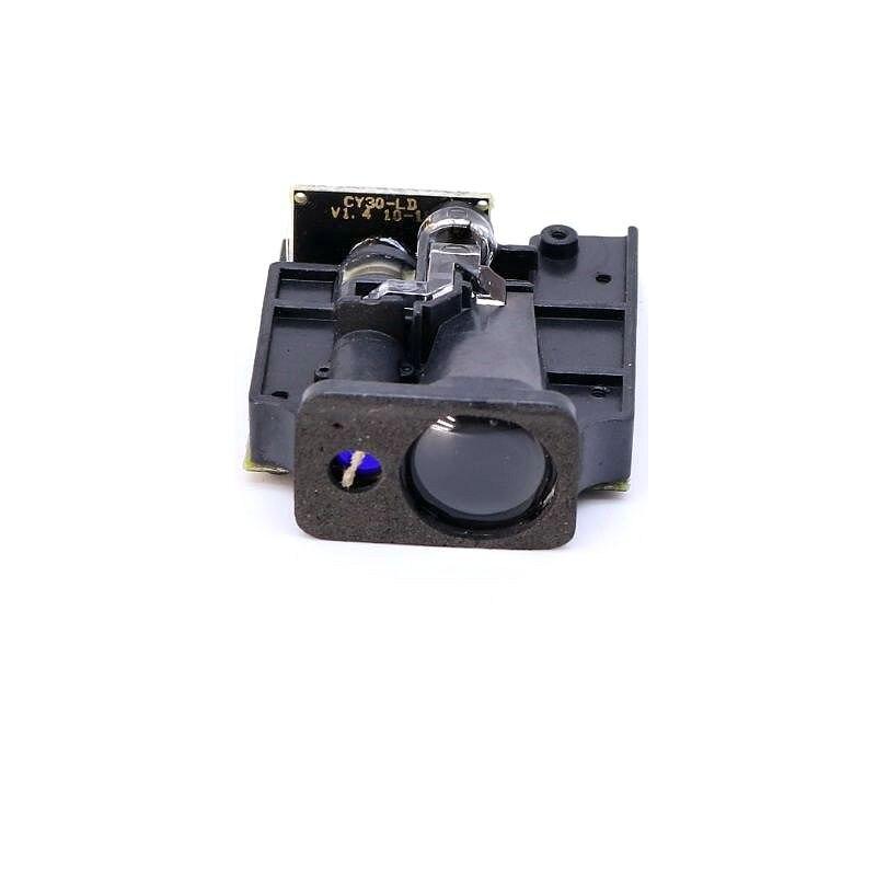 4 Гц 100 м 2 мм Высокоточный Лазерный датчик дальномер модуль последовательный порт RS232 предупреждение о препятствиях измерение расстояния