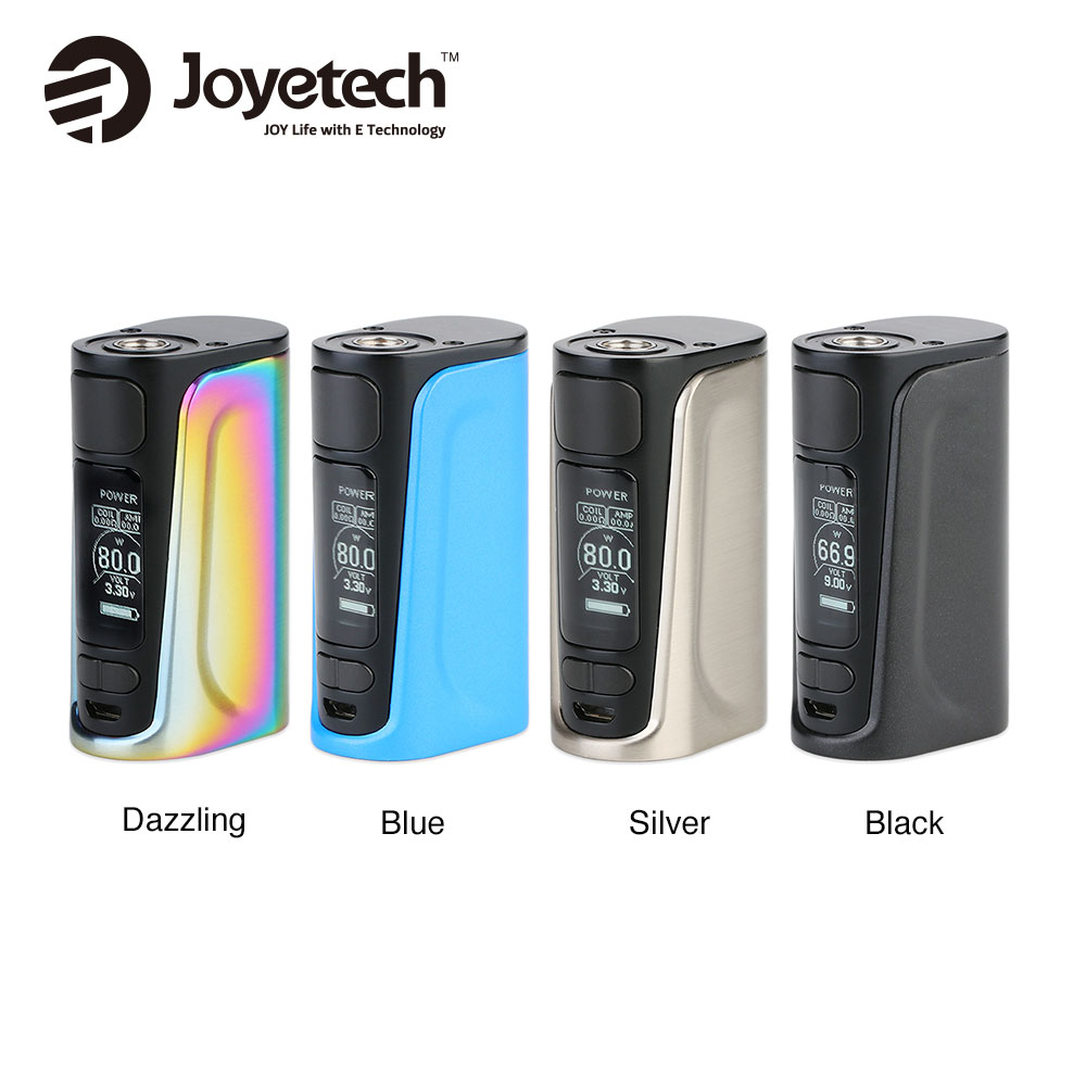 80W Joyetech EVic Primo Fit TC Box MOD with 2800mAh Battery & 0.96 Inch OLED Display Fit EXCEED Air Plus Tank Joyetech EVic Fit цены онлайн
