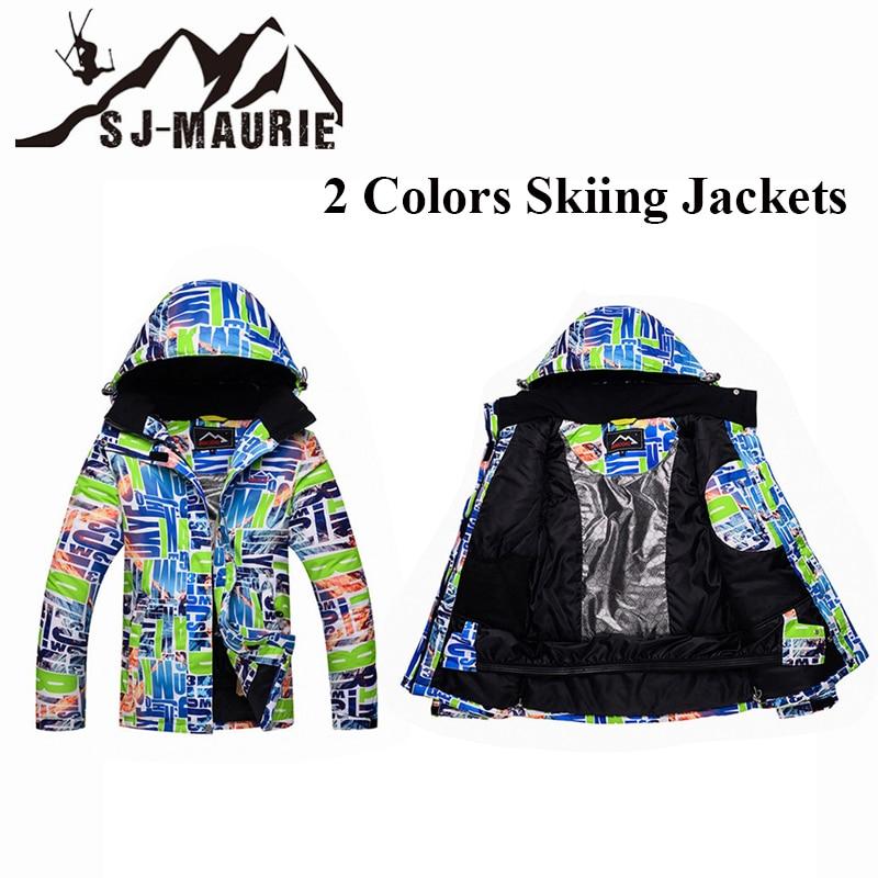 Imperméable coupe-vent hiver ski vestes Snowboard veste extérieur randonnée femme épais manteau lettre motif neige veste femmes