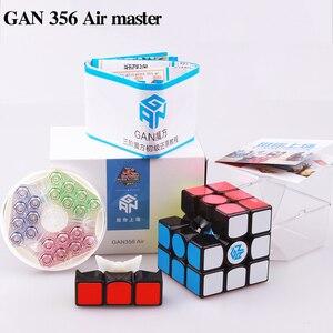 Image 3 - GAN 356 Air SM X 3x3x3 puzzle magnetyczne magiczna kostka profesjonalne gan356 x kostka magico gan354 M magnesy kostka gan 356 R S