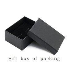 Vintage Black Vinyl Record Cufflinks With Gift Box