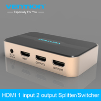 Vention Brand HDMI Splitter 1 In 2 Out HDMI Switch HDMI Switcher 1x2 HDMI 1 Input