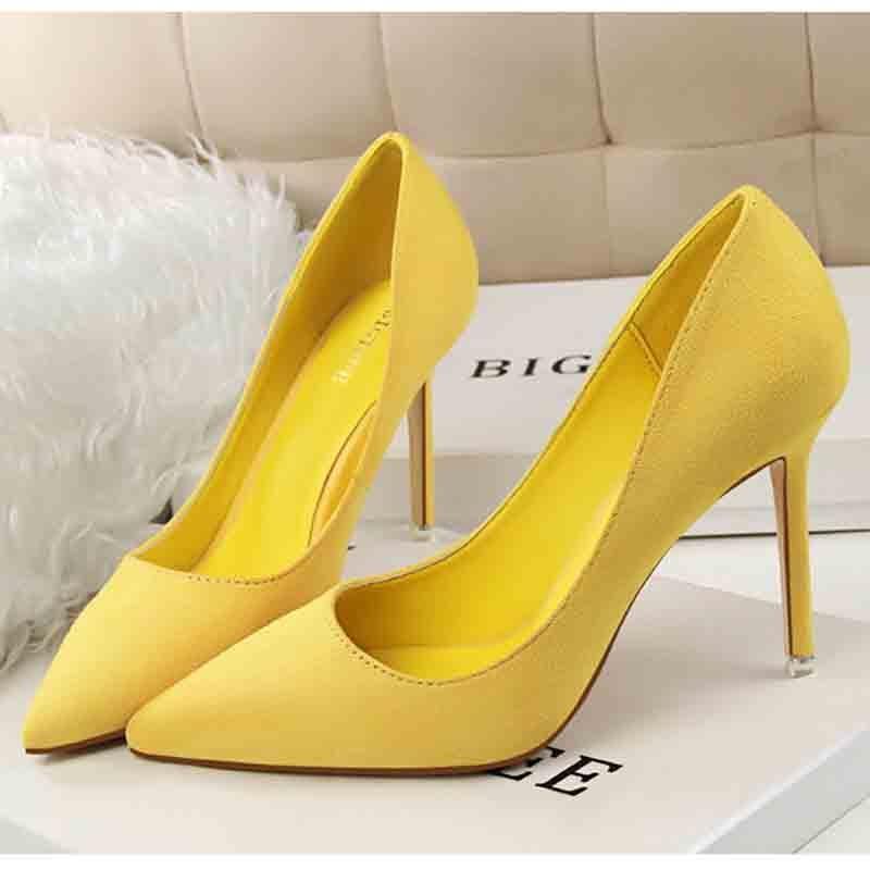 Popular Yellow Shoe-Buy Cheap Yellow Shoe Lots From China