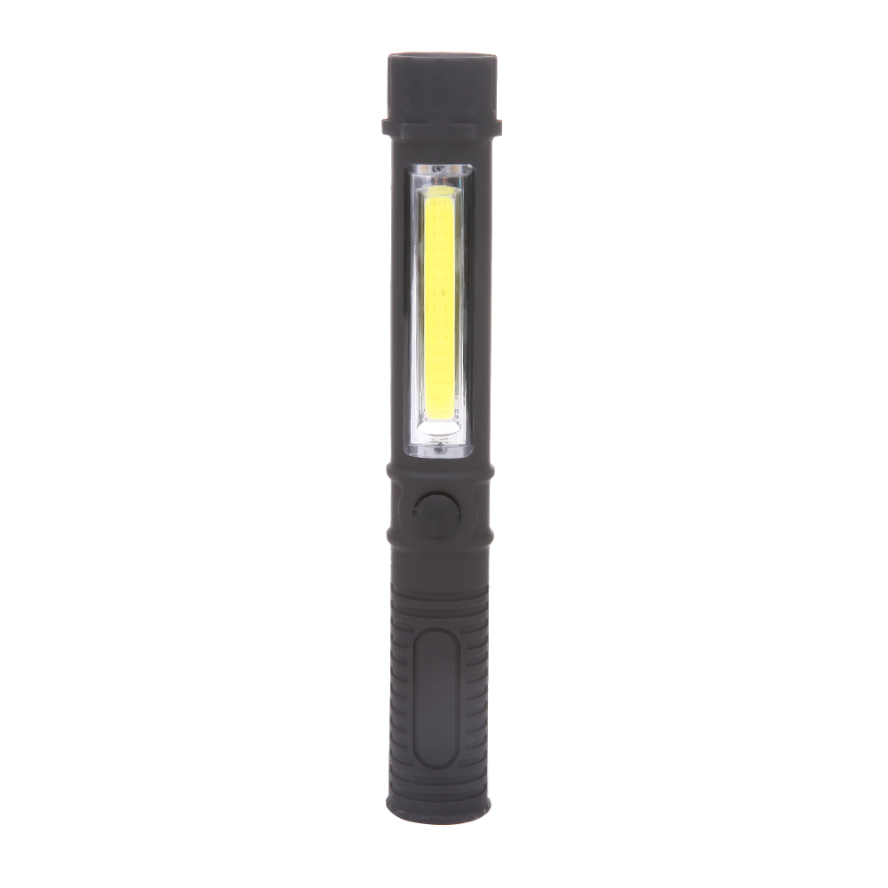 Multifunction LED Torch Light LED COB Pen Clip Light Flashlight Cob Round Work Hand Battery Torch Flashlight High Quality